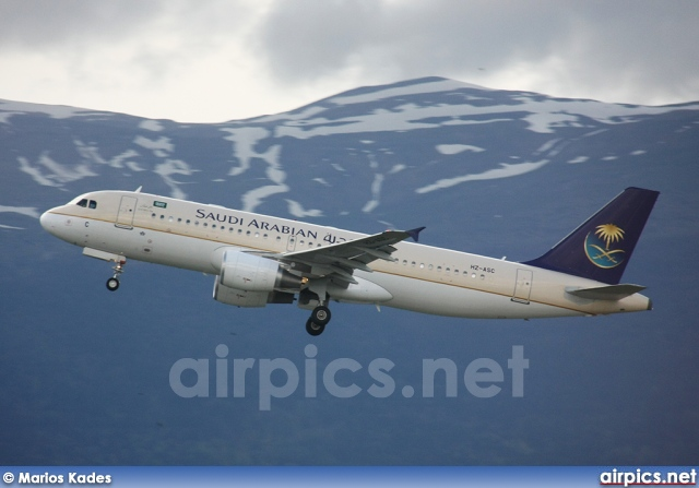 Saudi Airlines Airbus A320 Hz-asc Airbus A320-200 Saudi