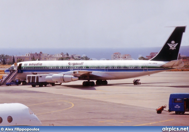HZ-HM2, Boeing 707-300C, Saudi Arabian Royal Flight