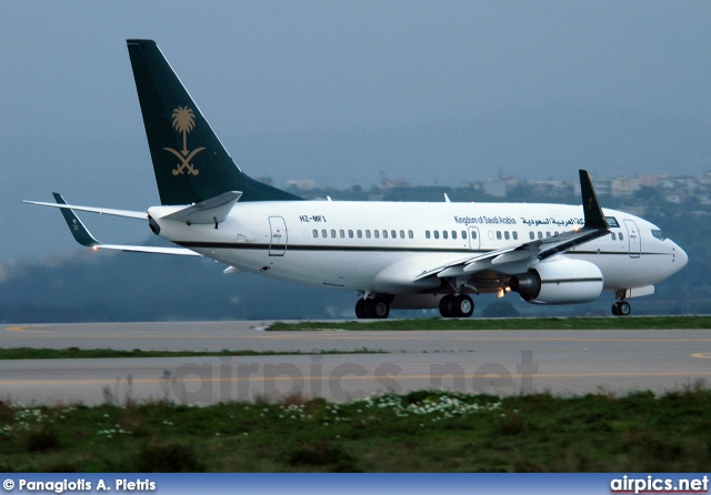 HZ-MF1, Boeing 737-700/BBJ, Kingdom of Saudi Arabia