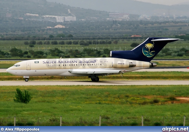 HZ-OCV, Boeing 727-100, Saudi Arabian Royal Flight