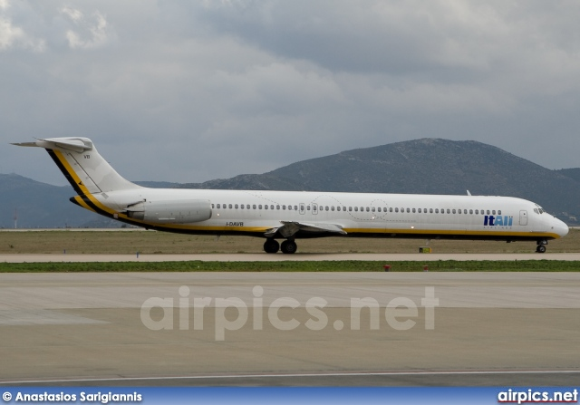 I-DAVB, McDonnell Douglas MD-82, ItAli Airlines