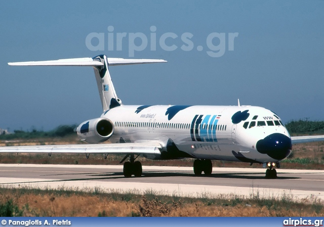 I-DAWW, McDonnell Douglas MD-82, ItAli Airlines
