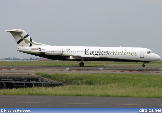 I-GIOA, Fokker F100, Eagles Airlines