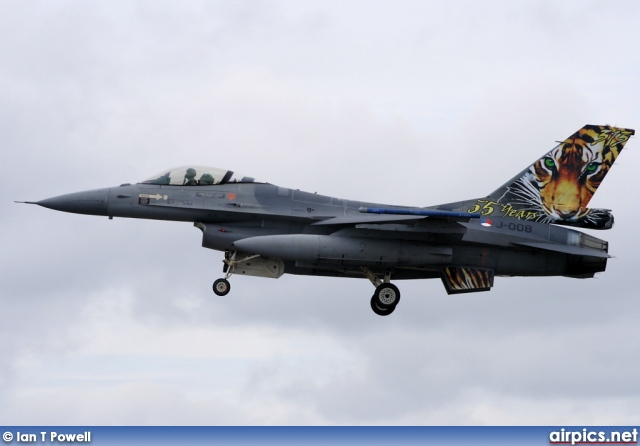 J-008, Lockheed F-16AM Fighting Falcon, Royal Netherlands Air Force