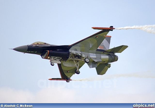 J-055, Lockheed F-16AM Fighting Falcon, Royal Netherlands Air Force