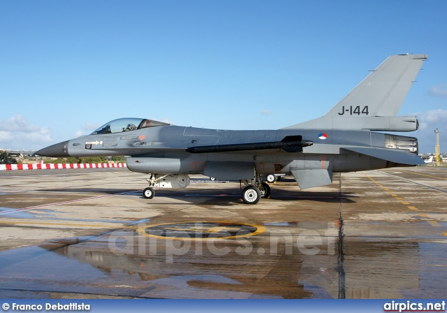 J-144, Lockheed F-16AM Fighting Falcon, Royal Netherlands Air Force