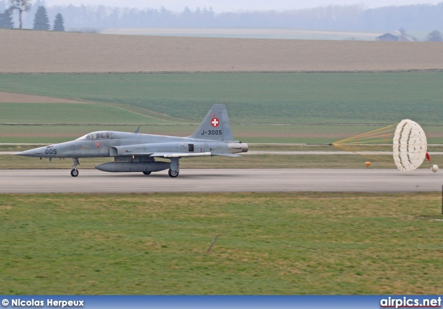 J-3005, Northrop F-5E Tiger II, Swiss Air Force
