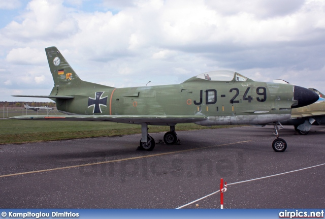 JD-249, North American F-86K Sabre, German Air Force - Luftwaffe