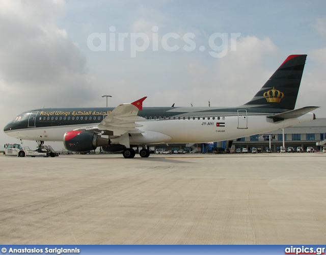 JY-AYI, Airbus A320-200, Royal Wings