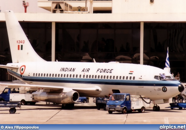 K2413, Boeing 737-200Adv, Indian Air Force