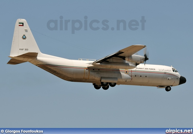 KAF323, Lockheed L-100-30 Hercules, Kuwait Air Force