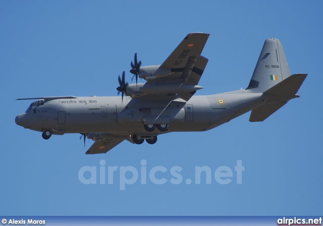 KC-3806, Lockheed C-130J-30 Hercules, Indian Air Force