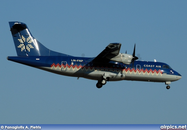 LN-FAP, ATR 42-300, Coast Air