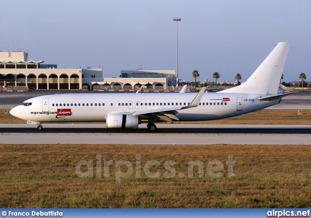 LN-KHD, Boeing 737-800, Norwegian Air Shuttle