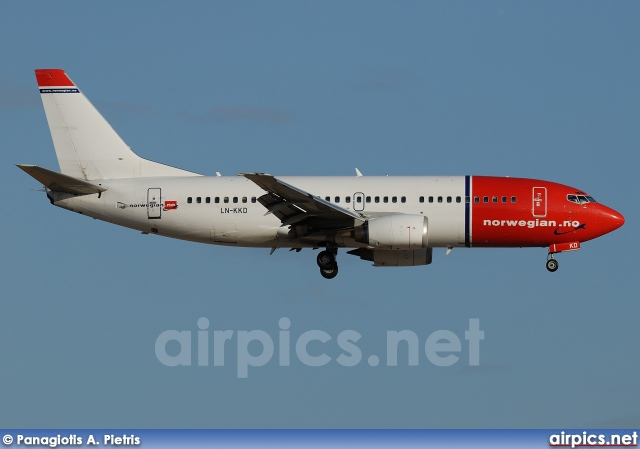 LN-KKD, Boeing 737-300, Norwegian Air Shuttle