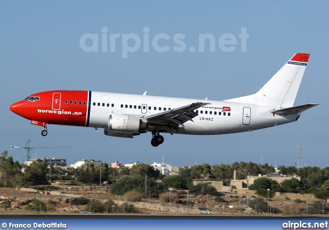 LN-KKZ, Boeing 737-300, Norwegian Air Shuttle
