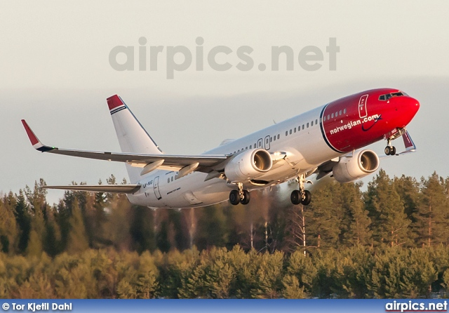 LN-NIG, Boeing 737-800, Norwegian Air Shuttle