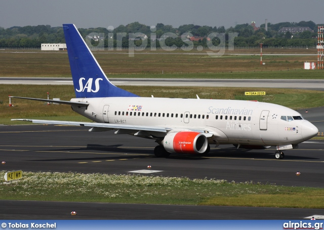 LN-RCT, Boeing 737-600, Scandinavian Airlines System (SAS)