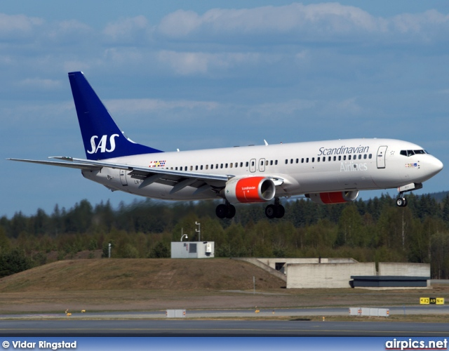 LN-RCY, Boeing 737-800, Scandinavian Airlines System (SAS)