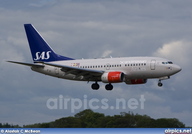 LN-RRP, Boeing 737-600, Scandinavian Airlines System (SAS)