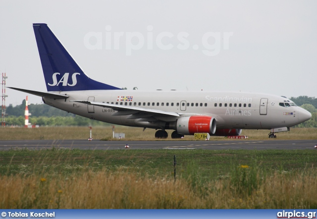 LN-RRX, Boeing 737-600, Scandinavian Airlines System (SAS)