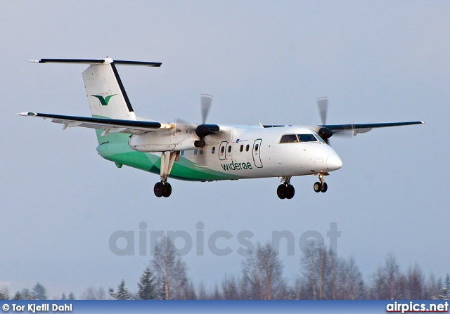 LN-WIB, De Havilland Canada DHC-8-100 Dash 8, Wideroe