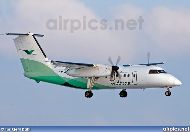 LN-WII, De Havilland Canada DHC-8-100 Dash 8, Wideroe