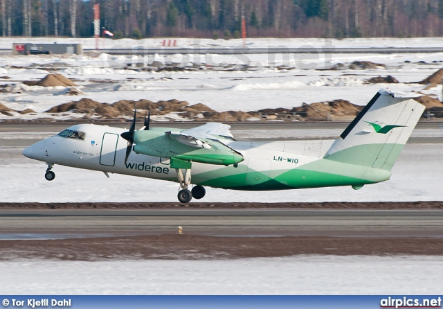 LN-WIO, De Havilland Canada DHC-8-100 Dash 8, Wideroe