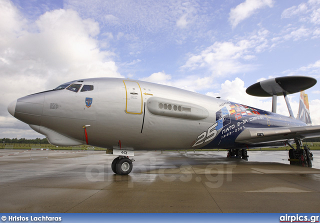 LX-N90443, Boeing E-3A Sentry, NATO - Luxembourg