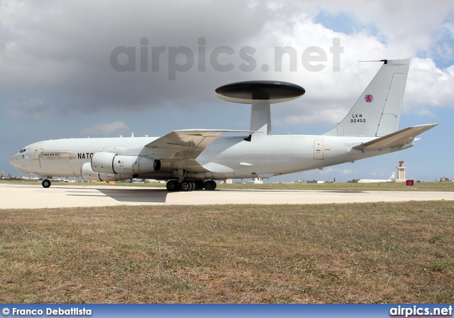 LX-N90452, Boeing E-3A Sentry, NATO - Luxembourg