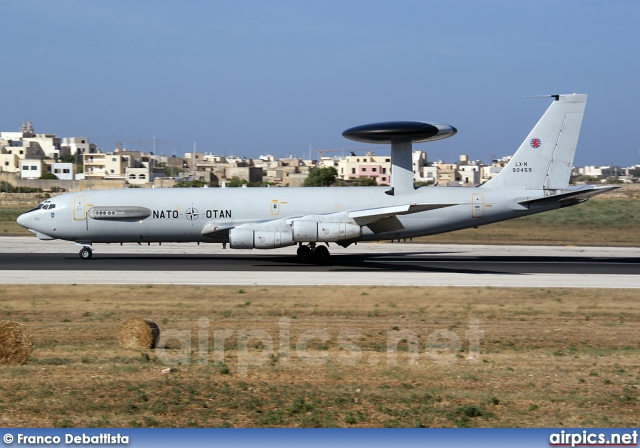 LX-N90459, Boeing E-3A Sentry, NATO - Luxembourg