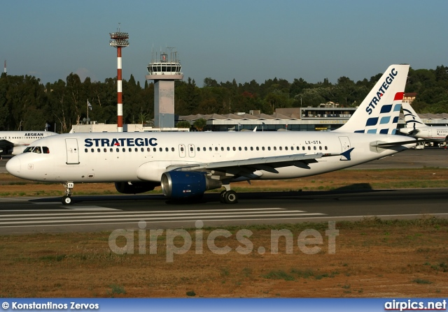 LX-STA, Airbus A320-200, Strategic Airlines