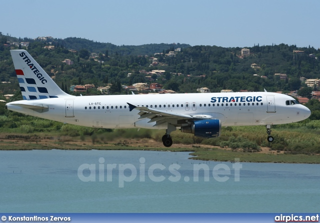 LX-STC, Airbus A320-200, Strategic Airlines