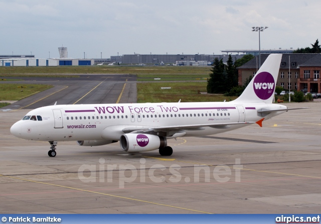 LY-COS, Airbus A320-200, WOW air