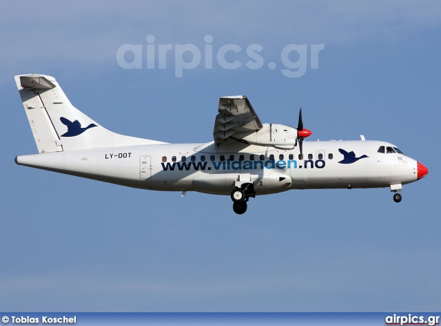 LY-DOT, ATR 42-300, Vildanden