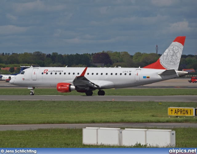 LY-LTF, Embraer ERJ 170-200LR, Air Lituanica