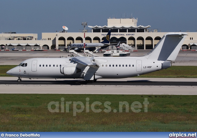 LZ-HBF, British Aerospace BAe 146-300, Bulgaria Air