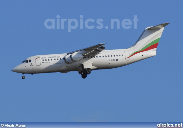 LZ-HBG, British Aerospace BAe 146-300, Bulgaria Air