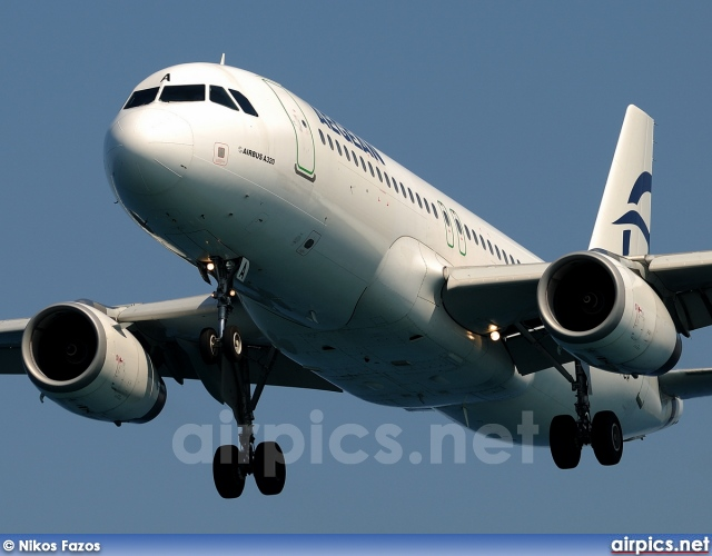 LZ-MDA, Airbus A320-200, Aegean Airlines