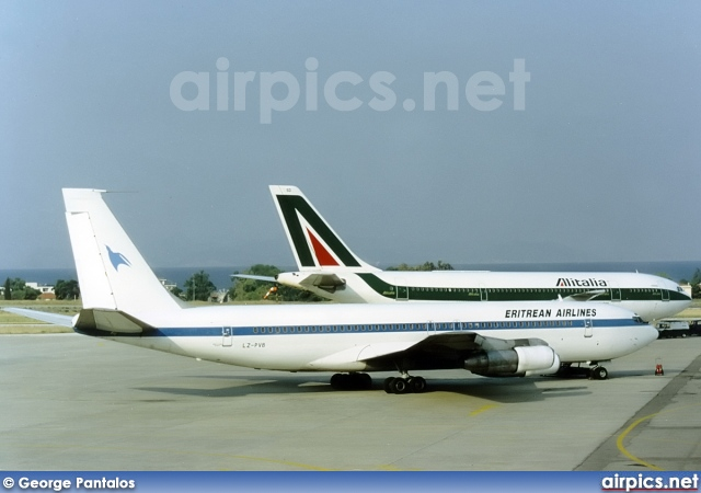 LZ-PVB, Boeing 707-300B, Eritrean Airlines
