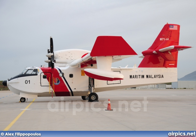 M71-01, Canadair CL-415, Malaysian Maritime Enforcement Agency