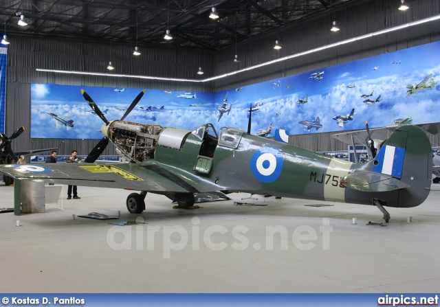 MJ755, Supermarine Spitfire LF9C, Hellenic Air Force