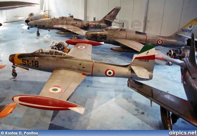 MM111049, Republic F-84G Thunderjet, Italian Air Force