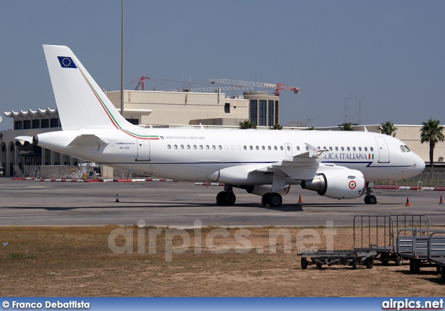 MM62209, Airbus A319-100CJ, Italian Air Force