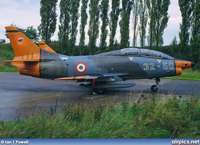 MM6350, Fiat G.91T-1, Italian Air Force