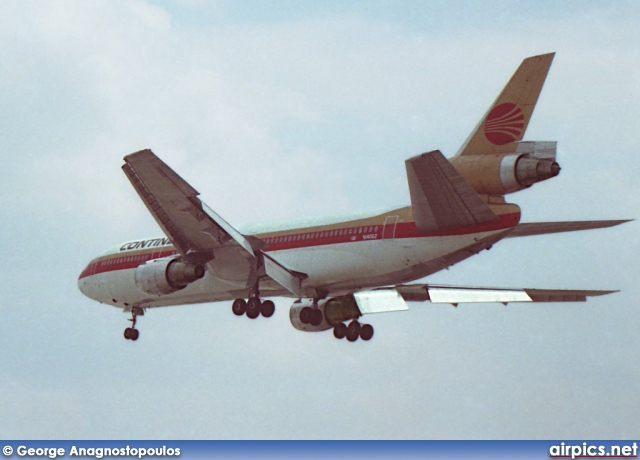 N14062, McDonnell Douglas DC-10-30, Continental Airlines