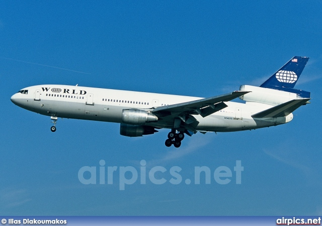 N14075, McDonnell Douglas DC-10-30, World Airways