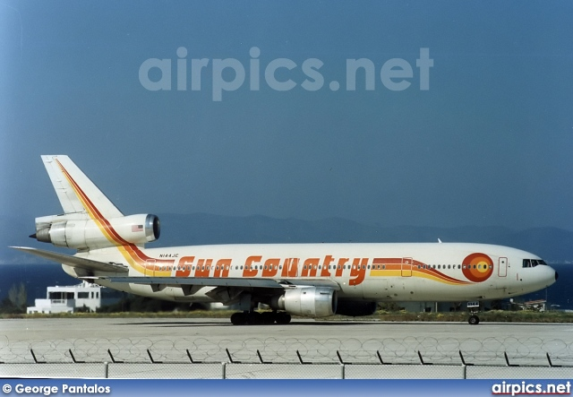 N144JC, McDonnell Douglas DC-10-40, Sun Country Airlines