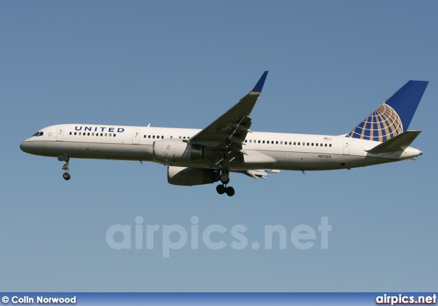 N17122, Boeing 757-200, United Airlines