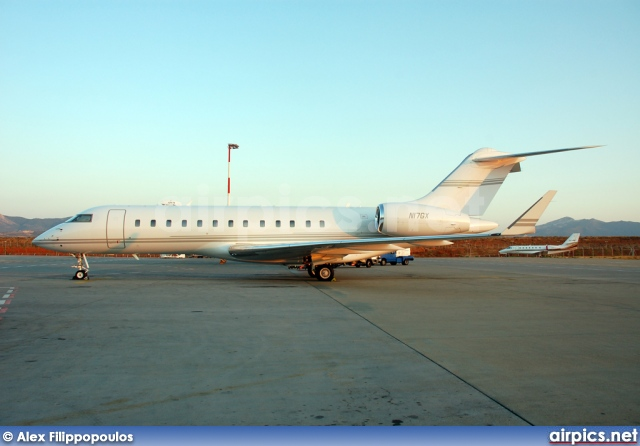 N17GX, Bombardier Global Express, Private